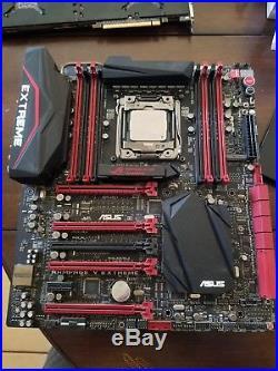 I7 5820k hexa core, Asus rog rampage V extreme motherboard & EK WB CPU cooler