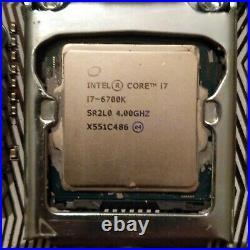 I7 6700k CPU + Motherboard Combo