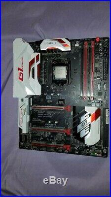 I7 6700k + Gigabyte GA-Z170X-Gaming 7 (G1 gaming) Motherboard combo Used