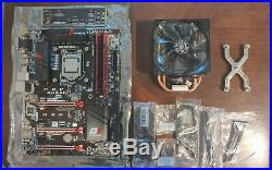 I7 6700k Skylake & Gigabyte Z170x Gaming 3 Motherboard w 16 GB DDR4 Ram & Cooler