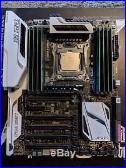 I7-6800K + Asus X99 Deluxe U3.1 + 32GB DDR4 2133MHZ Ram Bundle