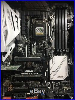 I7-7700k + ASUS Prime Z270-A + Corsair Vengeance LPX 16GB DDR4 3000MHz D15 RAM