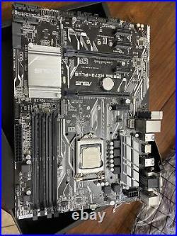 I7 7700k & Asus H270-Pluz Motherboard Combo DDR4