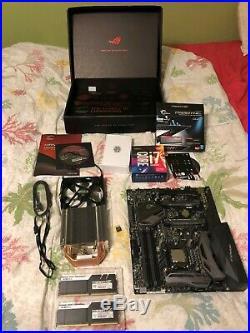 I7 7700k / Maximus IX Z270 Motherboard Combo / 32gig DDR4 3200 / Cooler
