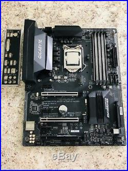 I7 7700k With Z270x Ultra Gaming Motherboard CPU Combo READ DESCRIPTION