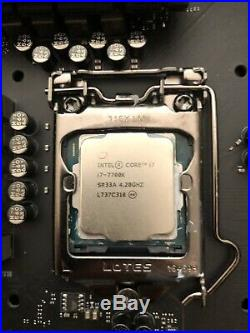 I7 7700k motherboard combo With Ram