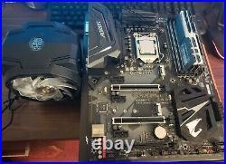 I7 8700K combo Z370 Aorus Ultra Gaming, 8700K, 16GB DDR4, MA610P Cooler