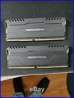 I7 8700k CPU, Aorus Motherboard, 16g Corsair RGB RAM (3000)MHz