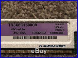I7 960, Intel DX58SO, 6gb Corsair XMS3, Corsair H55 Bundle