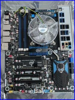 INTEL DX79SR Motherboard With i7-3820 CPU Heatsink & Fan