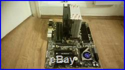 Intel 4930K CPU, Asrock X79 Extreme6 Motherboard, EVO 212 CPU fan, 16 GB RAM