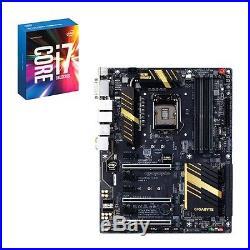 Intel CPU Core i7-6700K + Gigabyte Motherboard GA-Z170X-UD5 LGA1151 Combo