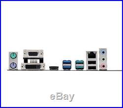 Intel Core I5 7400 Quad Core 3.5GHz CPU Asus H110M-PLUS Motherboard DDR4 HDMI 4K