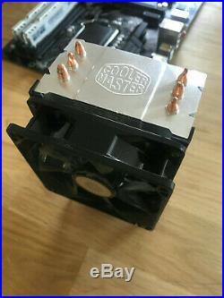 Intel Core I5 8600K mit Gigabyte Z370P D3 Mainboard und 8GB DDR4 Ballistix