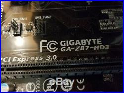 Intel Core i-7-4770K + Motherboard CPU combo GA-Z87-HD3+24GB+ Video Card nvid660