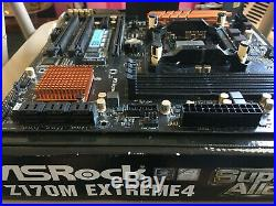Intel Core i5 6600K + ASRock Z170M Extreme4 motherboard + 128 GB NVMe SSD Combo