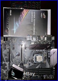 Intel Core i5 7600k / Asus ROG Strix Z270-H Gaming CPU/Motherboard Combo