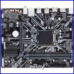Intel Core i5-8600K & Gigabyte H310M A LGA 1151 mATX New Motherboard Combo