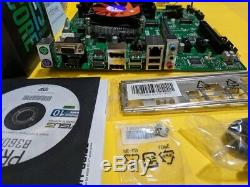 Intel Core i5-9600K 6-Core 3.7/4.6 GHz CPU, 16GB RAM, Fan, 2x M. 2 Motherboard Combo