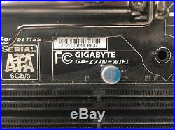 Intel Core i7-2700k, 8gb G. Skill RAM, Gigabyte Z77N-Wifi itx Motherboard
