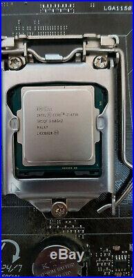 Intel Core i7 4790 + ASUS CS-B 1150 Q87 Quad Core 3.6Ghz CPU Motherboard Combo