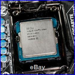 Intel Core i7 4790T + Gigabyte H97N-Wifi mini ITX mainboard +16 GB RAM silent PC