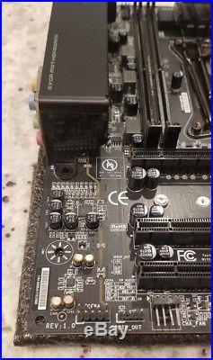 Intel Core i7-5820k 6C/12T CPU + EVGA Micro2 X99 Motherboard