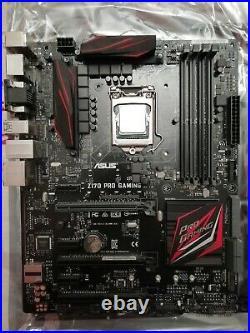 Intel Core i7-6700K 4.0GHz + ASUS Z170 PRO GAMING + COOLER MASTER HYPER 212 EVO