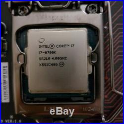 Intel Core i7-6700K 4.0GHz Quad-Core Processor with motherboard combo