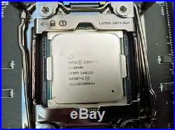 Intel Core i7-6800K + MSI X99A SLI Krait Motherboard combo