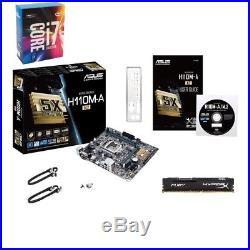 Intel Core i7-7700K & ASUS H110M-A/M. 2 LGA 1151 8GB mATX New Motherboard Combo