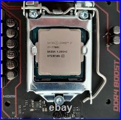 Intel Core i7-7700K CPU + MSI B250 Gaming M3 Motherboard 1151 DDR4 ATX i7 7700k