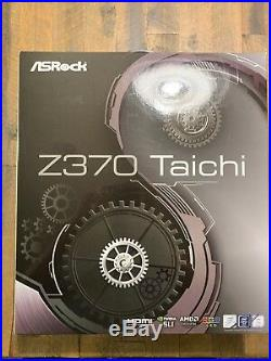 Intel Core i7-8700K 6-Core Processor with ASRock Z370 Taichi Motherboard