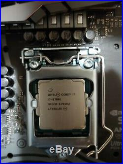 Intel Core i7-8700k + Asrock Z390 Taichi