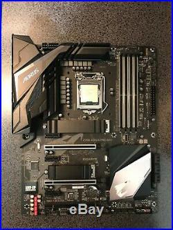 Intel Core i7 9700k + Gigabyte Aorus Pro Wifi Combo