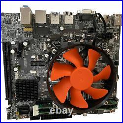 Intel Core i7 Gaming Desktop Motherboard CPU RAM Combo 16GB DDR3 USB3 HDMI Fast