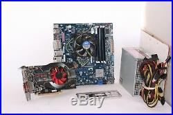 Intel DH77EB Gamer Combo Core i5 3470 8GB RAM Radeon HD 6770 500W 80 PLUS PSU