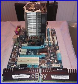 Intel I5 2500k 3.3GHZ 8GB Corsair DDR3 RAM 1600MHz Gigabyte Motherboard Bundle