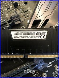 Intel I7-7700k ASUS Maximus IX Hero Corsair 32GB DDR4 Memory Bundle