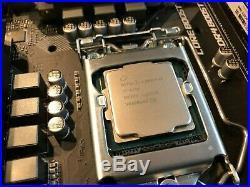 Intel I7 8700 6C/12T MSI Mortar mATX Motherboard + 32GB RAM + 256 NVME SSD Combo