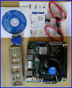 Intel Motherboard DQ67EP and Core i7-2600 3.4GHz Quadcore CPU 8GB RAM Combo