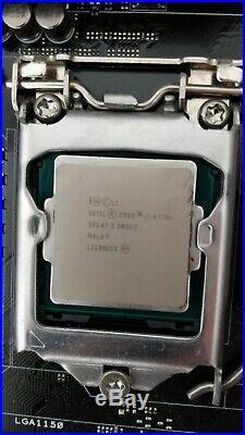 Intel core i7 4770k, ASUS maximus vi HERO, 16gb 2400 RAM, corsair h100 bundle