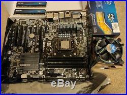 Intel i5-2500K & Gigabyte Z68 GA-Z68X-UD3H-B3 LGA 1155 Motherboard & 8GB RAM