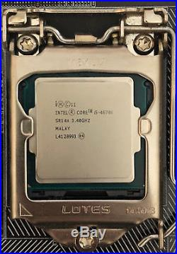 Intel i5-4670K + Asus Z97-A ATX LGA1150 USB 3.0 + PNY Anarchy 16GB DDR3-1866 RAM
