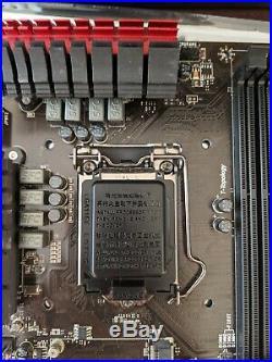 Intel i5-4690 CPU LGA1150, MSI Z97-G45 motherboard, 16GB RAM, and Wifi combo