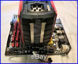 Intel i5-4690K, Gigabyte Z97 Mobo, 16GB Gskill DDR3 Memory, Thermaltake Cooler