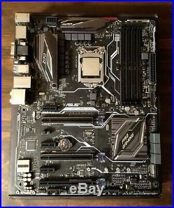 Intel i5-6600K processor & Asus Z170 Pro Gaming/Aura motherboard combo