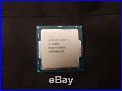 Intel i5 6600k CPU, GTX 1070 GPU, 16gb Gskill ram, and MSI motherboard combo