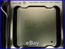 Intel i7-3930K CPU + Asus P9X79 LE MB + Kingston HyperX 4x4GB mem + misc OC'd