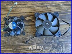 Intel i7 4790k Asus Z87-pro Motherboard, 16gb Corsair Ram, H80i cooler bundle